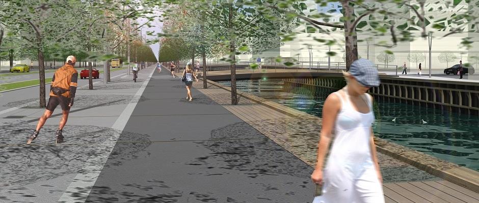 Aarhus Ø er en helt ny bydel, der vokser op på Aarhus' havn. Læs her nærmere om projektet.